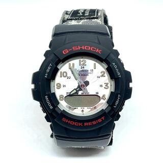 ジーショック(G-SHOCK)のG-SHOCK アナデジ G-100 メッシュバンド カモ 日本製 ミリタリー(腕時計(アナログ))