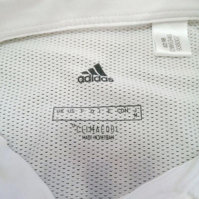 adidas(アディダス)の◆アディダス CLIMACOOL 【レディース 半袖ポロシャツ Mサイズ】 スポーツ/アウトドアのゴルフ(ウエア)の商品写真