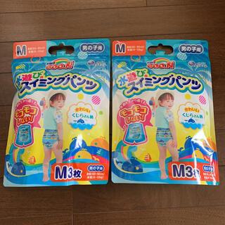 ユニチャーム(Unicharm)の【新品】スイミングパンツ Mサイズ 男の子 グーン 3枚x2袋(その他)