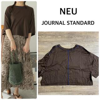 JOURNAL STANDARD - 【NEU】JOURNAL STANDARDプライマリーテンジク ステッチTシャツ
