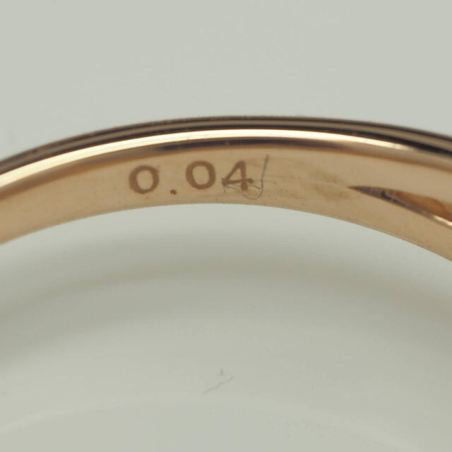 PonteVecchio(ポンテヴェキオ)のizk  PV ポンテヴェキオ☆お花モチーフ天然ダイヤモンドK18PGリング レディースのアクセサリー(リング(指輪))の商品写真