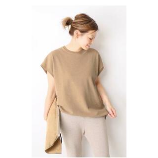 DEUXIEME CLASSE - ドゥーズィエムクラス Fine Tシャツ ベージュ
