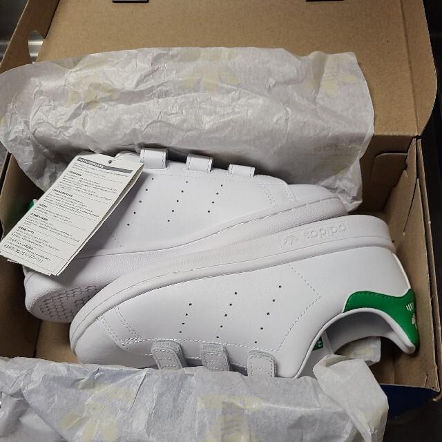 adidas(アディダス)の【大幅値下げ】adidas STAN SMITH CF C 20センチ キッズ/ベビー/マタニティのキッズ靴/シューズ(15cm~)(スニーカー)の商品写真