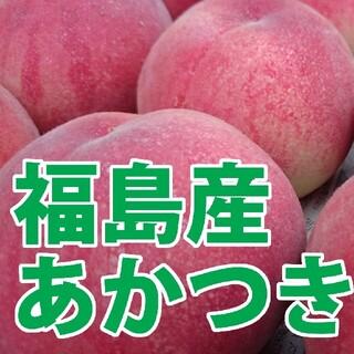 福島産 桃 あかつき 9~12玉 3kg 秀級品 7月31日発送(フルーツ)