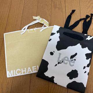 Michael Kors - マイケルコース lee 紙袋