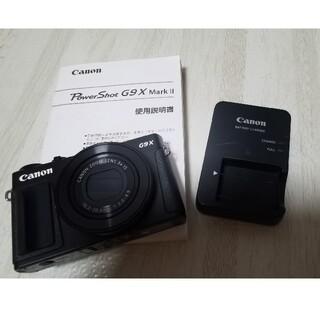 キヤノン(Canon)のCANON PowerShot G9 X Mark II ブラック(コンパクトデジタルカメラ)
