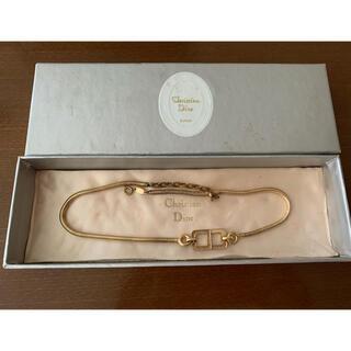 Christian Dior - ビンテージ チョーカータイプ クリスチャンディオールネックレス