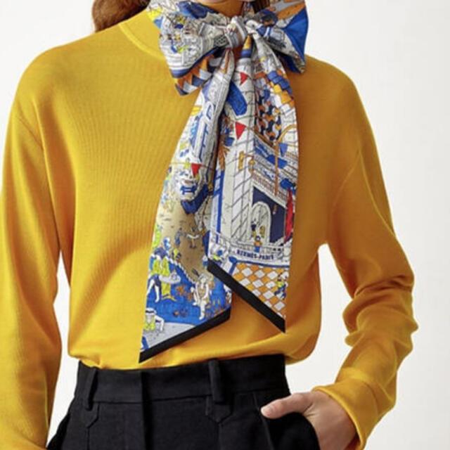 Hermes(エルメス)の新品タグ付き❣️2021春夏コレクション正規エルメスマキシツイリー レディースのファッション小物(バンダナ/スカーフ)の商品写真