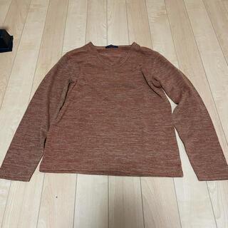 レイジブルー(RAGEBLUE)のレイジブルー RAGEBLUE オレンジ ミックス ニット セーター Mサイズ(ニット/セーター)