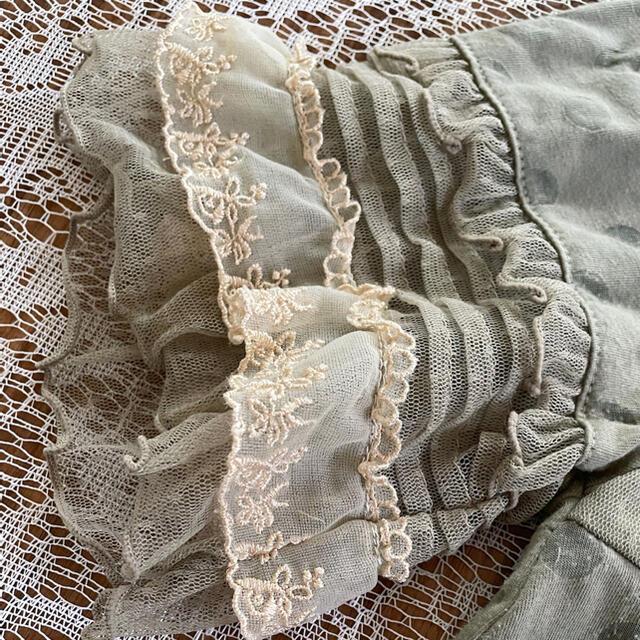 axes femme(アクシーズファム)の(美品)axes femme アクシーズファム シャツ ブラウス 半袖 トップス レディースのトップス(シャツ/ブラウス(半袖/袖なし))の商品写真