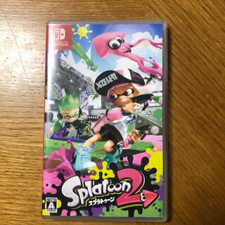 ニンテンドースイッチ(Nintendo Switch)の任天堂スイッチ スプラトゥーン2(家庭用ゲームソフト)