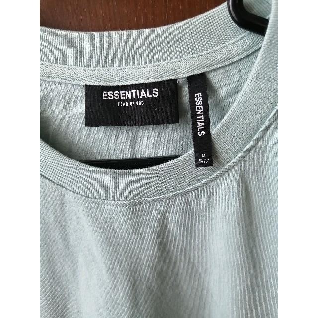 FEAR OF GOD(フィアオブゴッド)のエッセンシャルズ Tシャツ Blue  M メンズのトップス(Tシャツ/カットソー(半袖/袖なし))の商品写真