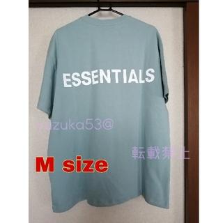 FEAR OF GOD - (月末セール)エッセンシャルズ Tシャツ Blue  M