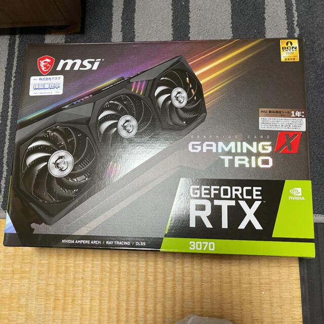 MSI RTX3070 GAMING X TRIO スマホ/家電/カメラのPC/タブレット(PCパーツ)の商品写真