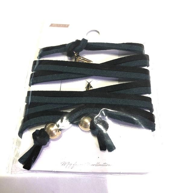 ヘアーロープ ワイヤーポニー グルグルワイヤー ハンドメイドのアクセサリー(ヘアアクセサリー)の商品写真