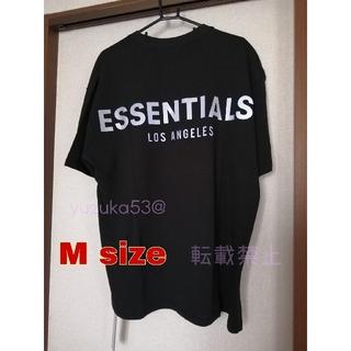 フィアオブゴッド(FEAR OF GOD)の(月末セール)エッセンシャルズ LA限定Tシャツ Black  M(Tシャツ/カットソー(半袖/袖なし))