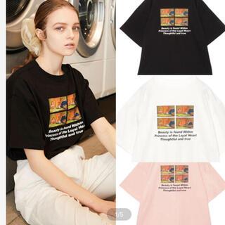 エイミーイストワール(eimy istoire)のeimy Beauty and the Beast book T-shirt(Tシャツ(半袖/袖なし))