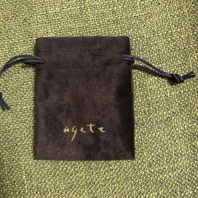 agete(アガット)のアガット K10ピアスチャーム レディースのアクセサリー(チャーム)の商品写真