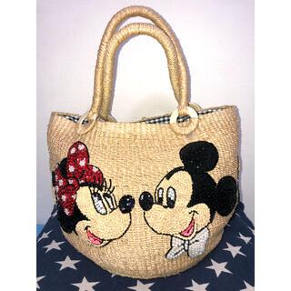 Disney - BEAMS ディズニー コラボ カゴバッグ