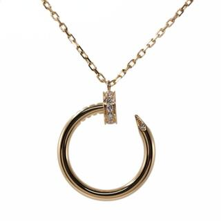 カルティエ(Cartier)のカルティエ ジュストアンクル/juste un clou ダイヤモンド ネック(ネックレス)