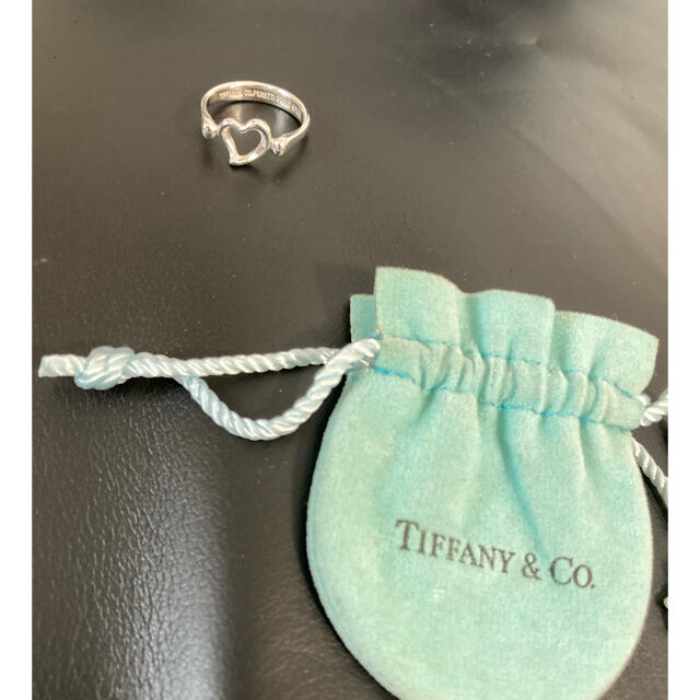 Tiffany & Co.(ティファニー)のティファニー 10号 オープンハート リング 指輪 レディースのアクセサリー(リング(指輪))の商品写真