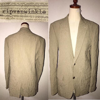ripvanwinkle - ripvanwinkle送料込リップヴァンウィンクル定価5万程シワ加工ジャケット