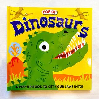 ボーネルンド(BorneLund)の新品/英語絵本 恐竜 ダイナソー 知育玩具 洋書 おもちゃ えほん(絵本/児童書)