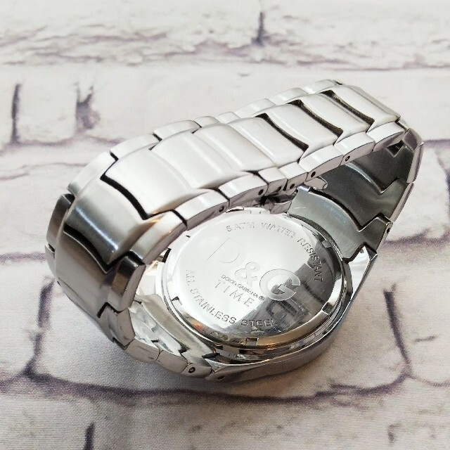 DOLCE&GABBANA(ドルチェアンドガッバーナ)のD&G DOLCE&GABBANA VD57 腕時計 メンズ メンズの時計(腕時計(アナログ))の商品写真