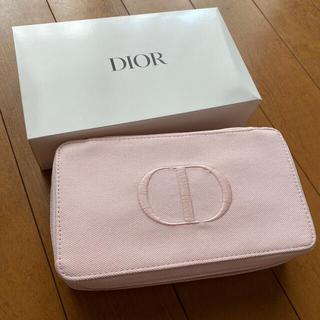 クリスチャンディオール(Christian Dior)のディオール ノベルティ ポーチ バニティポーチ ピンク 新品未使用 (ポーチ)