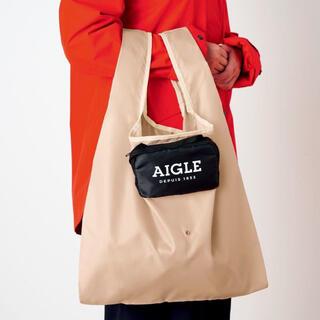 エーグル(AIGLE)のGLOW 2021年6月号付録 エーグル ポシェットとの2way変身エコバッグ (エコバッグ)