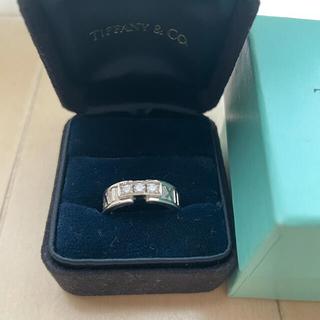 Tiffany & Co. - ティファニー アトラス ダイヤ ホワイトゴールド リング