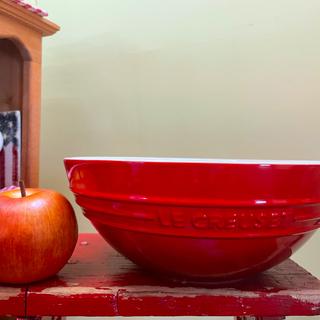 ルクルーゼ(LE CREUSET)のル・クルーゼ 26.5cm フルーツボウル 美品(食器)