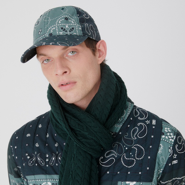 Supreme(シュプリーム)のkith 2021 Spring  Paisley cap  キャップ 完売 メンズの帽子(キャップ)の商品写真