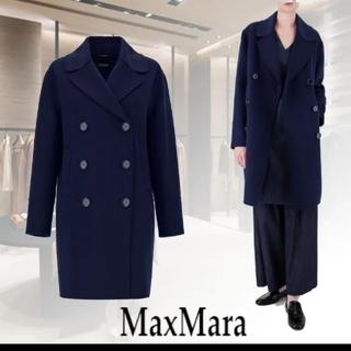 Max Mara - S MAX MARA 19.20AW 新品ヴァージンウールロングPコート
