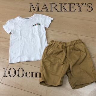 マーキーズ(MARKEY'S)のMARKEY'S  マーキーズ Tシャツ パンツ 100cm 2点セット(Tシャツ/カットソー)