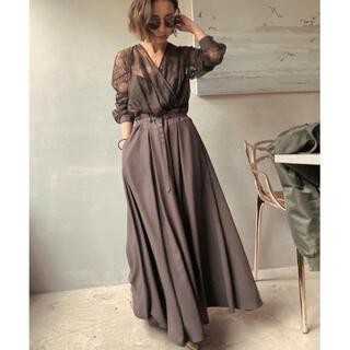 Ameri VINTAGE - Ameri vintage LADY LACE VEIL DRESS