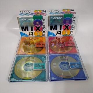 ビクター(Victor)のVictor MDディスク 74min 新品、TDK 80min 開封未使用品(その他)