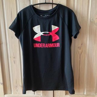 アンダーアーマー(UNDER ARMOUR)のアンダーアーマーTシャツ 黒(Tシャツ/カットソー)