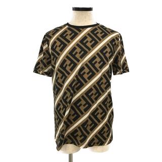 FENDI - 美品 フェンディ FENDI 半袖Tシャツ メンズ L