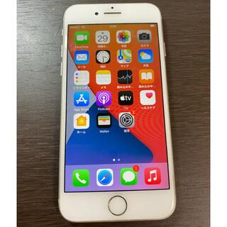 アイフォーン(iPhone)の美品 simフリー iPhone8 64GB シルバー Apple iPhone(スマートフォン本体)