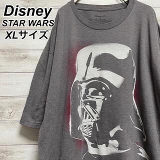 Disney - ディズニー スターウォーズ Tシャツ グレー メンズサイズXL 古着