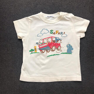 familiar - familiar ファミリア 定番 ファミちゃんTシャツ 90cm