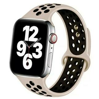 Apple Watch スポーツ バンド 38/40mm サンド/ブラック