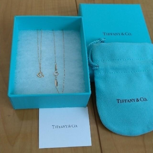 Tiffany & Co.(ティファニー)のちむちむ様Tiffany♥オープンハートネックレス レディースのアクセサリー(ネックレス)の商品写真