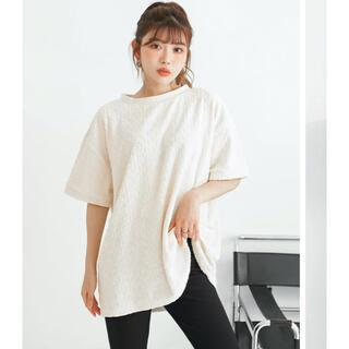 エイミーイストワール(eimy istoire)のDarich パイルビックTシャツ(Tシャツ(半袖/袖なし))