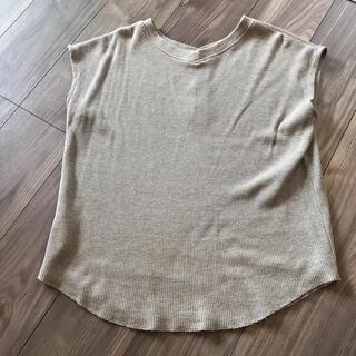 ノースリーブTシャツ トップス(Tシャツ(半袖/袖なし))