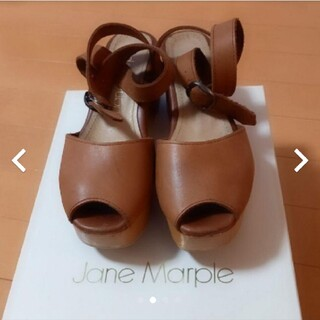 ジェーンマープル(JaneMarple)の【になぽん様専用】Jane Marple 25thアニバーサリーサンダル(サンダル)