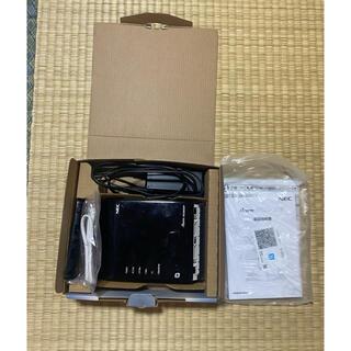 エヌイーシー(NEC)のNEC wifi ルーター WG2600HP(PC周辺機器)