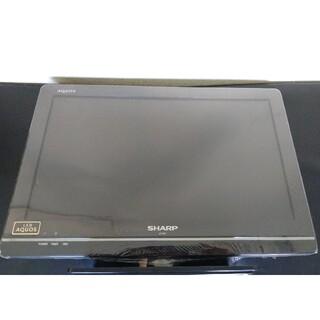 アクオス(AQUOS)のBS CS 地デジ LED液晶テレビ SHARPシャープアクオス LC-19K7(テレビ)