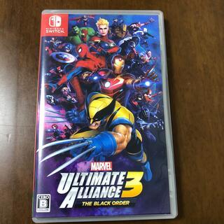 ニンテンドースイッチ(Nintendo Switch)のMARVEL ULTIMATE ALLIANCE 3: The Black Or(家庭用ゲームソフト)